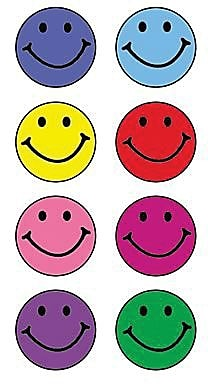 Teacher Created Resources® Mini Stickers, Happy Faces, 528/Pack (TCR1236)