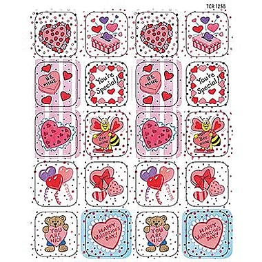 Teacher Created Resources Stickers, Valentine's Day, 1440/Pack (TCR1258)