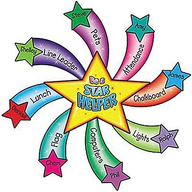 Teacher Created Resources® Bulletin Board Display Set, Star Helper