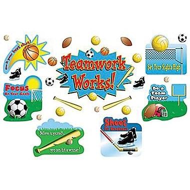 Teacher Created Resources® Bulletin Board Set, Sports/Teamwork