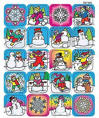 Teacher Created Resources Stickers, Winter