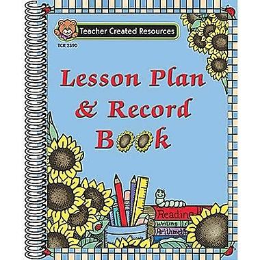Teacher Created Ressources - Lesson Plan and Record Book, de la maternelle à 5e secondaire
