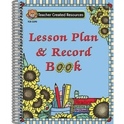 Teacher Created Resources® Sunflowers Lesson Plan and Record Book, Grades Kindergarten - 12th, 2 EA/BD