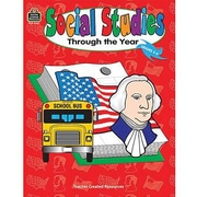 Teacher Created Resources® Social Studies Through The Year Book, Grades 2nd - 4th