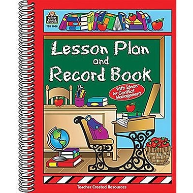 Teacher Created ResourcesR Lesson Plan And Record Book