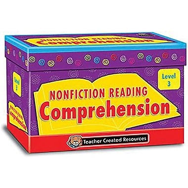 Nonfiction Reading Comprehension Cards, Level 3