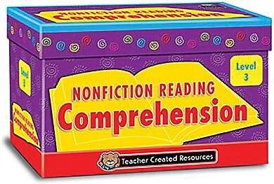 Nonfiction Reading Comprehension Cards, Level 3