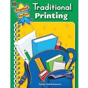 Teacher Created Resources Practice Makes Perfect Traditional Printing Book, Grade Kindergarten-2 (TCR3330)