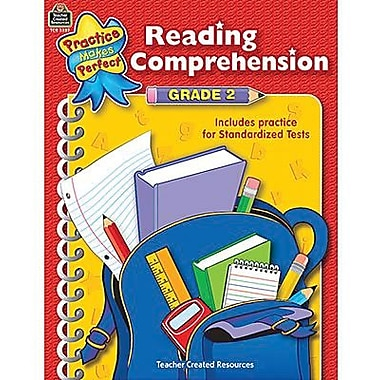 Teacher Created Resources® Practice Makes Perfect Reading Comprehension Book, Grades 2nd