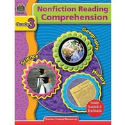 Teacher Created Resources® Nonfiction Reading Comprehension Book, Grades 3rd