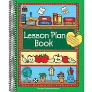Teacher Created Resources Lesson Plan Book, Grades Kindergarten - 12th