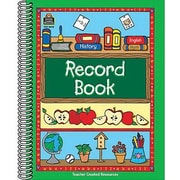 Teacher Created Resources Record Book, Grades Kindergarten - 12th
