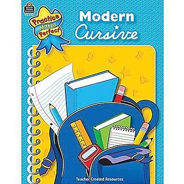 Practice Makes Perfect: Modern Cursive