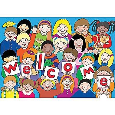 Teacher Created Resources Kid's Welcome Postcard, 30/Pack (TCR4077)
