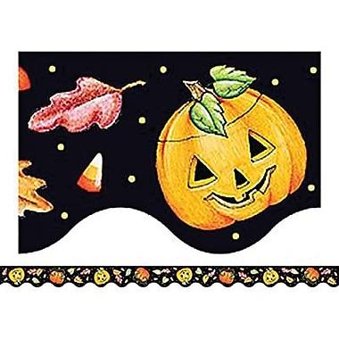 Teacher Created Resources® Scalloped Border Trim, Halloween