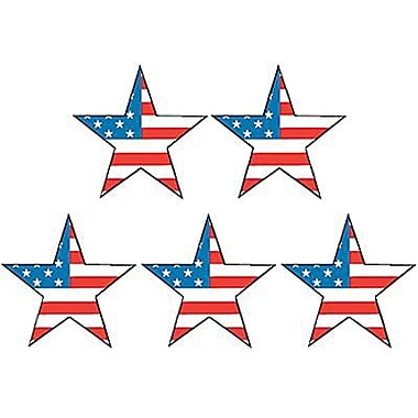 Teacher Created Resources Stars Stickers, Large Flag, 1296/Pack (TCR4210)