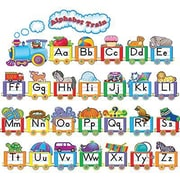 Teacher Created Resources Bulletin Board Display Set, Alphabet Train, 31/Pack (TCR4421)