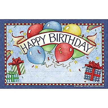 Teacher Created Resources® Happy Birthday Awards From Susan Winget