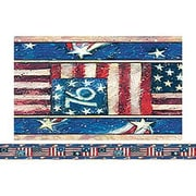 Teacher Created Resources® Infant - 12th Grades Straight Bulletin Board Border Trim, Patriotic