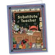 Teacher Created Resources® Susan Winget Substitute Teacher Pocket Folder