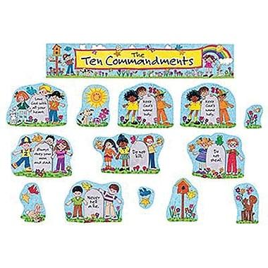 Teacher Created Resources® Bulletin Board Display Set, Children's Ten Commandments