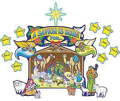 Teacher Created Resources® Bulletin Board Display Set, Nativity Scene
