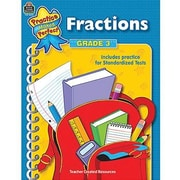 Teacher Created Resources® Practice Makes Perfect Series Fractions Book, Grades 3rd