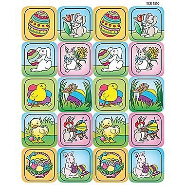 Teacher Created Resources Stickers, Easter, 1440/Pack (TCR1810)