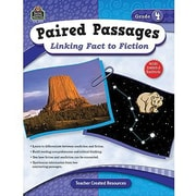 Teacher Created Resources® Paired Passages Linking Fact To Fiction Book, Grades 4th