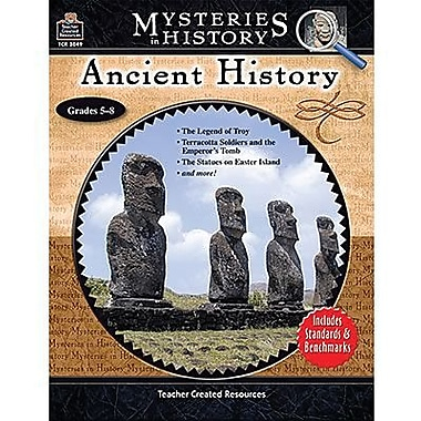 Teacher Created Resources® Mysteries In History Ancient History Book, Grades 5th - 8th