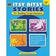 Teacher Created Resources® Itsy Bitsy Stories Book For Reading Comprehension, Grades 1st
