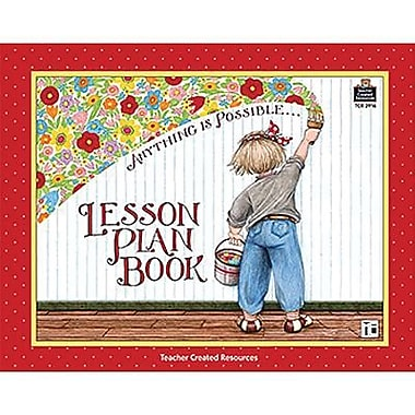 Teacher Created Resources Anything Is Possible Lesson Plan Book From Mary Engelbreit, Grade P-12th (TCR3916)