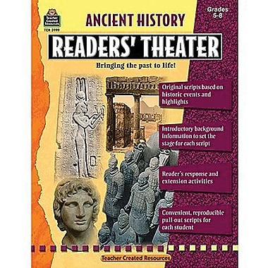 Teacher Created Resources® Ancient History Readers' Theater Book, Grades 5th and Up