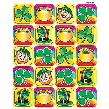 Teacher Created Resources Stickers, St. Patrick's Day, Grades 1st - 5th, 1440/Pack (TCR4151)