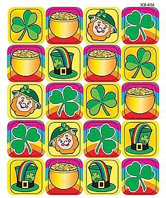 Teacher Created Resources® Stickers, St. Patrick's Day, Grades 1st - 5th (TCR4151)