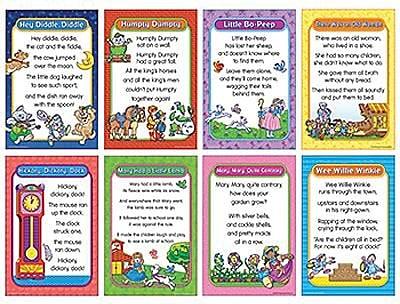 Nursery Rhymes Bulletin Board, Set 1