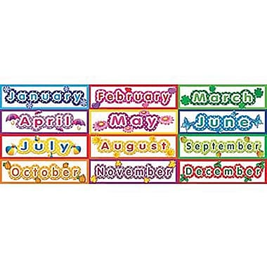 Teacher Created Resources Headliner, Polka Dot Monthly, 12/Pack (TCR4481)