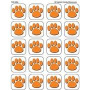 Teacher Created Resources® Stickers, Orange Paw Prints