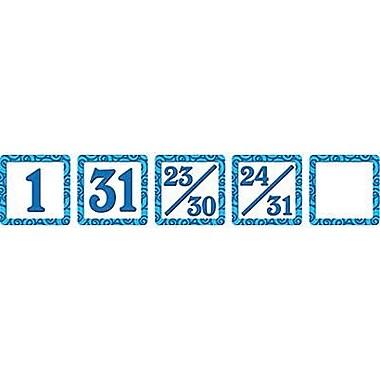 Teacher Created Resources® Calendar Days Mini Pack, Blue Swirls