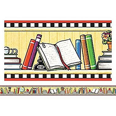 Teacher Created Resources Pre-school - 12th Grades Bulletin Board Border Trim, We Love Books, 72/Pack (TCR4603)