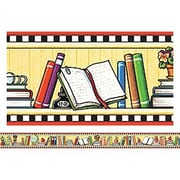 Teacher Created Resources® pre-school - 12th Grades Bulletin Board Border Trim, We Love Books