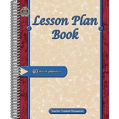 Teacher Created Resources® Lesson Plan Book, Grades Kindergarten - 8th
