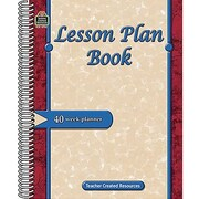 Teacher Created Resources Lesson Plan Book, Grades Kindergarten - 8th