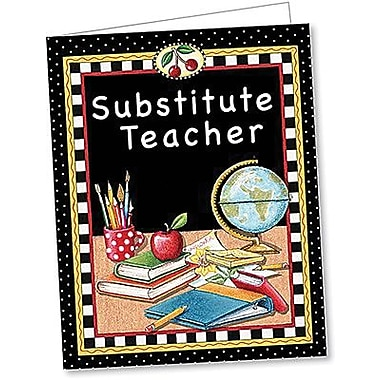 Teacher Created Resources® Mary Engelbreit Substitute Teacher Pocket Folder
