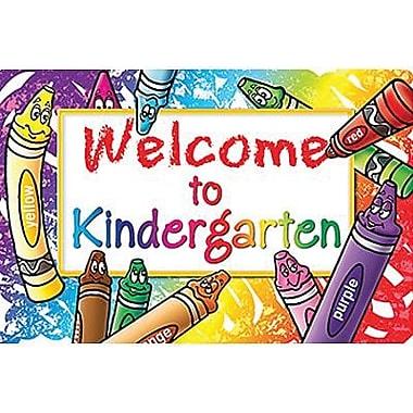 Teacher Created Resources® Welcome To Kindergarten Postcard