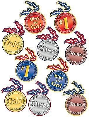 Decorative Olympic Products, Olympic Medal Accents