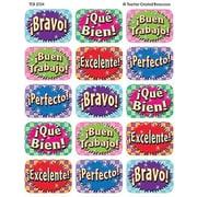 Teacher Created Resources® Jumbo Stickers, Good Work (Spanish) (TCR5734)