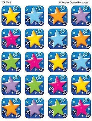 Teacher Created Resources Stickers, Colorful Stars
