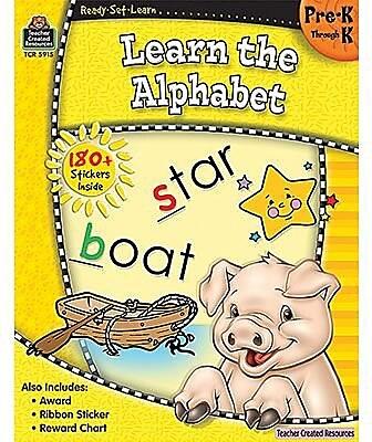 Ready•Set•Learn: Learn the Alphabet