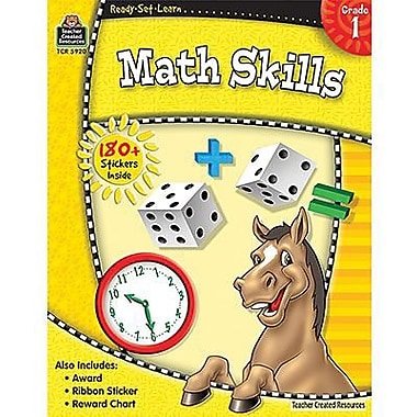 Teacher Created Resources® Ready - Set - Learn, Math Skills Book, Grades 1st